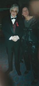 Jamie Elliin Forbes & Mark Naftalin at the World Trade Center special Artexpo tribute to the art of Mark Naftalin