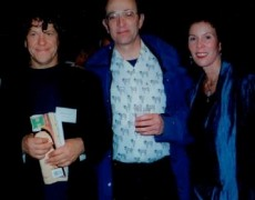 Michael Lang, Jeffery Glen, and Jamie Forbes at the Intrepid