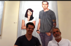 Interview with Frank Oriti at Richard J. Demato Gallery
