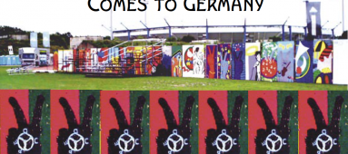 Woodstock's Wall of Peace Comes to Germany