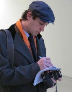 Alessandro Berni, Clio Art Fair founder and owner.